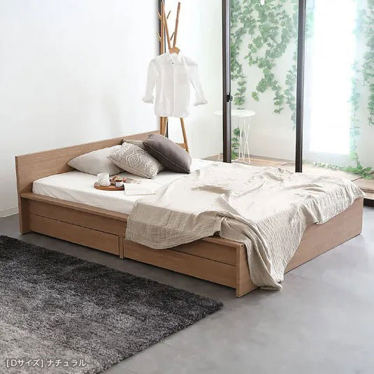 ステージ収納ベッド