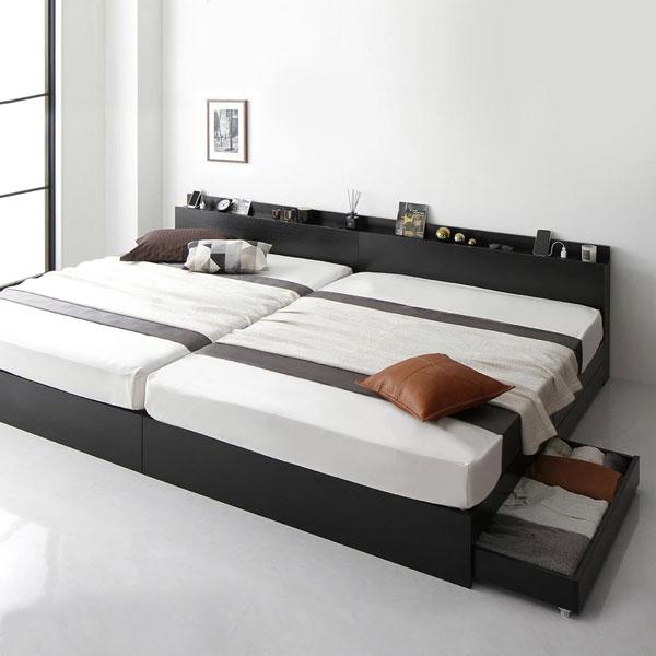 連結ファミリータイプの格安収納ベッド(おすすめしません)
