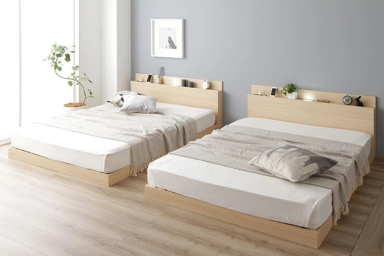 分割したときの連結ベッド