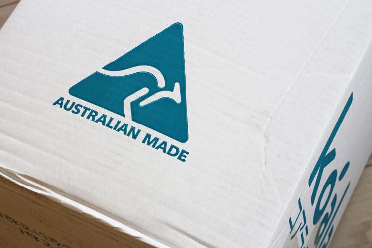 旧モデル(箱に「AUSTRARIAN MADE」)