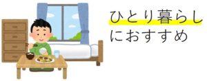 一人暮らしにおすすめのベッド