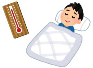 ロフトベッドは冬は暖かい