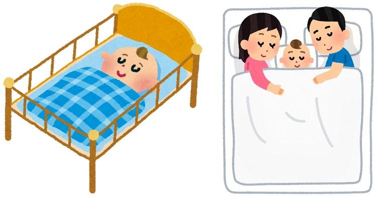 赤ちゃんのベッドの選び方