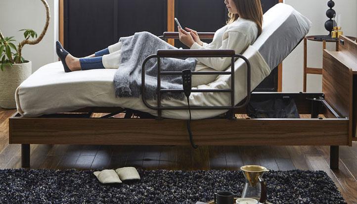 電動ベッドの動き方