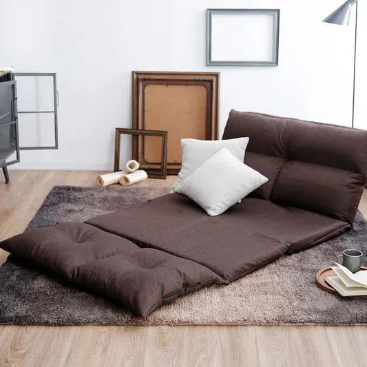 折りたたみタイプのソファーベッド