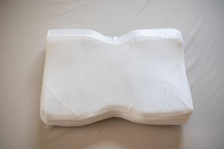 モットン枕を上から見た画像