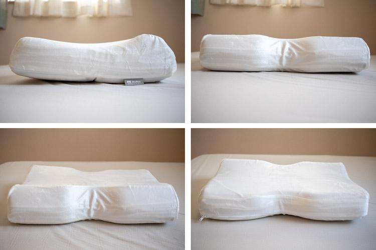 モットン枕をいろいろな角度から見た画像