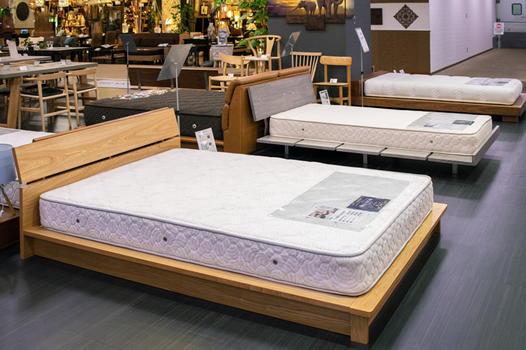 カーサヒルズのベッド