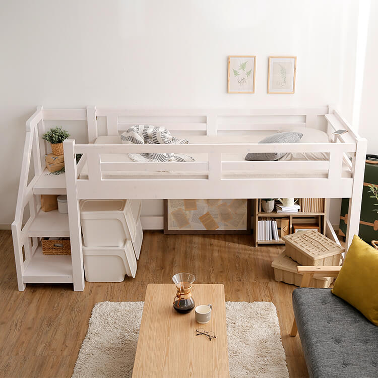 高さが低いロフトベッド