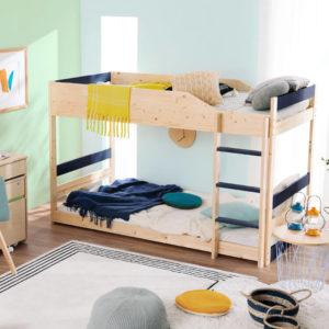 低めの二段ベッド