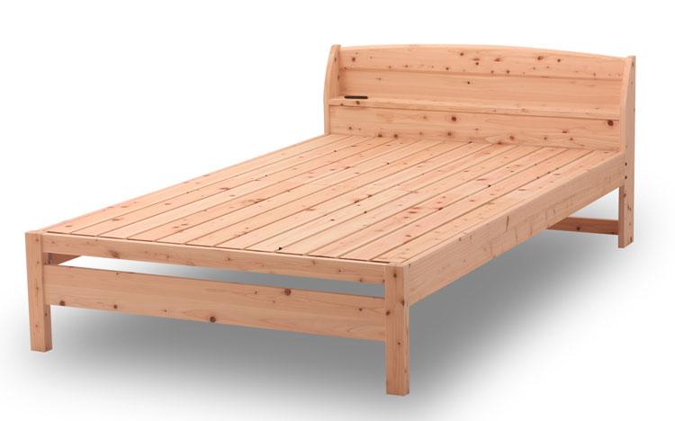 国産檜を使用したすのこベッド