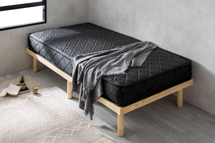 バリューポケットコイルにおすすめのベッドフレーム「バノン」