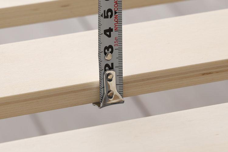 すのこの厚さ(1.5cm)