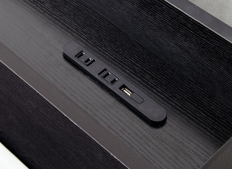 USB付き2口コンセント