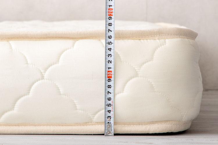 厚みの実計測(17cm)