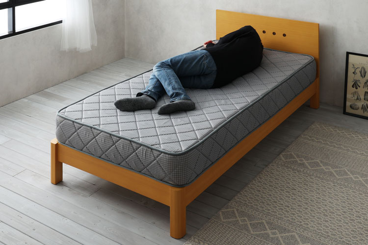 レンタルサービスのベッド