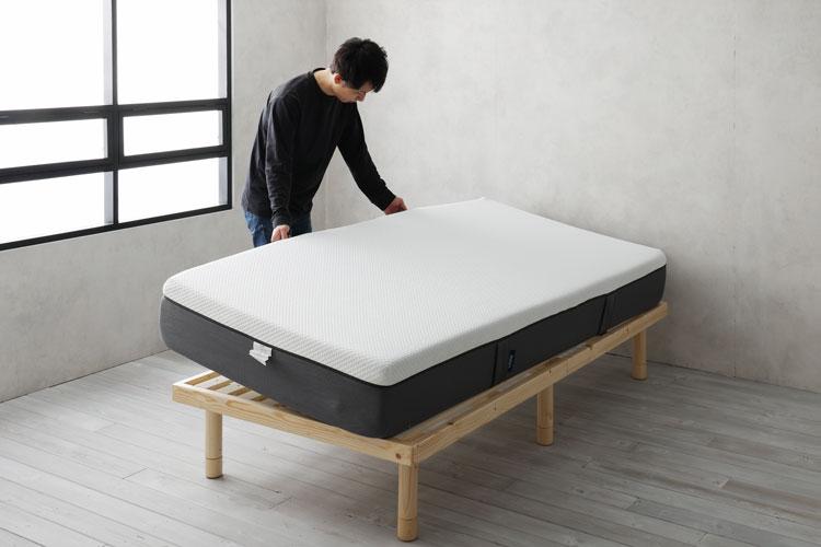 ベッドフレームとマットレス