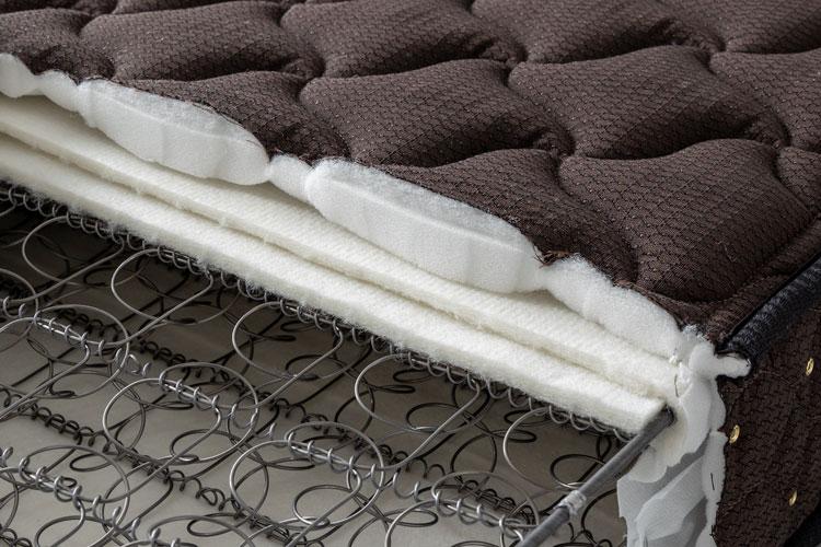 フランスベッド製マットレスの断面