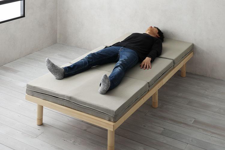 エイプマンパッド310の寝心地