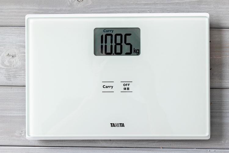ウレタンフォーム本体の重量