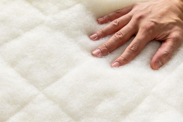 雲のやすらぎプレミアムの羊毛