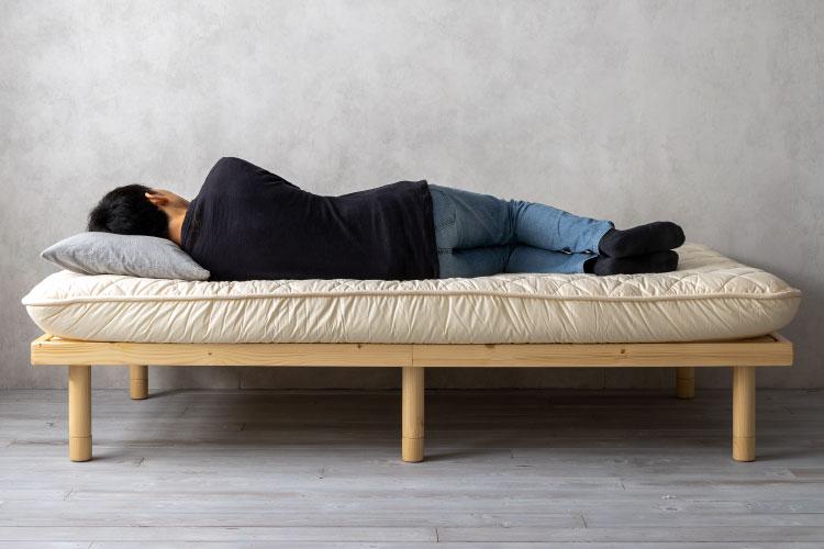 横向き寝(敷布団)
