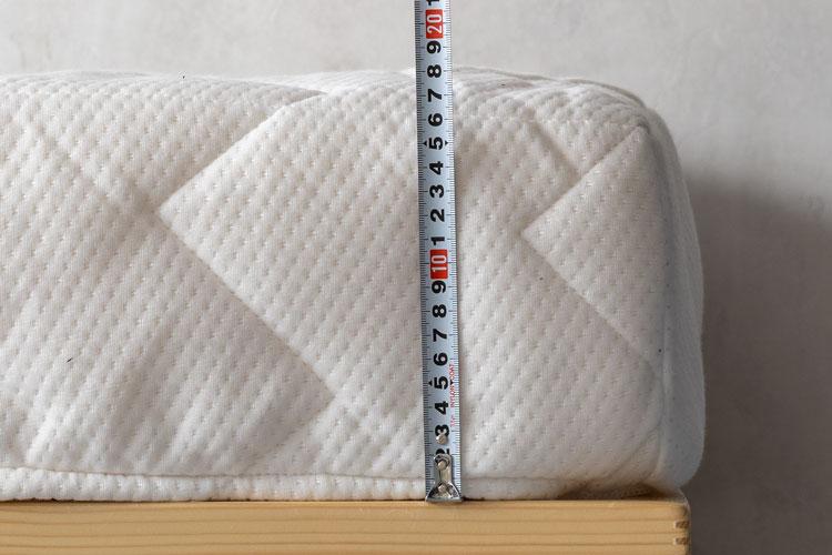 厚さの計測(マットレス)