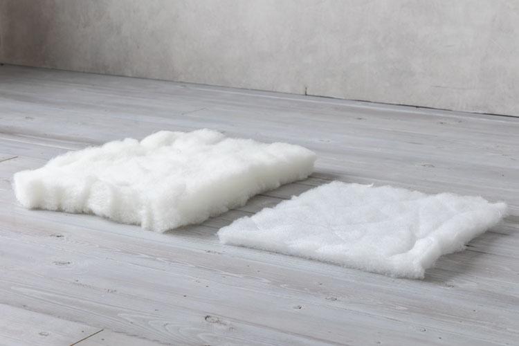 ポリエステル綿の比較