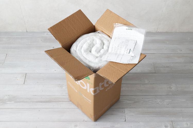 パッケージの開封