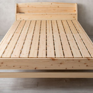 【レビュー】源ベッドの国産ひのきすのこベッド「TCB233」の特徴&使用感は?